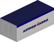 20′ Dry Freight Container Steel