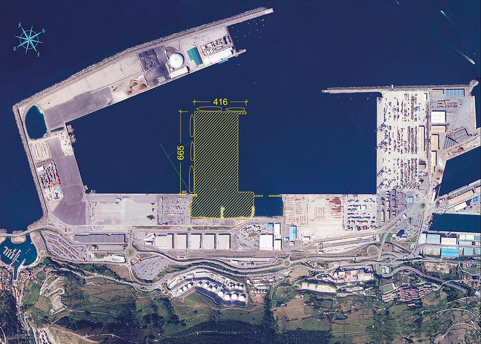 El puerto de bilbao arranca la ltima fase de su - Temperatura actual bilbao ...